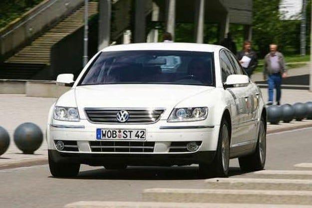 VW Phaeton V6 TDI: Преработен TDI