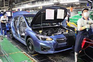 Заводът на Subaru в Япония спря работа