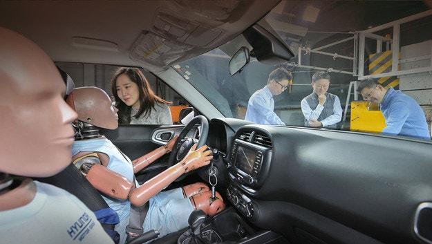 Hyundai създава първата многократна възглавница