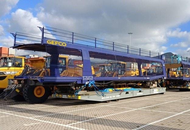 GEFCO доставя вагони в подкрепа на нов завод на PSA