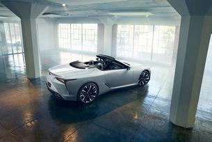 Lexus LC Convertible може да стане сериен през 2020