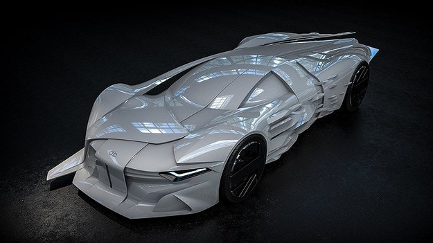 Направиха спортен автомобил в памет на Дейвид Боуи
