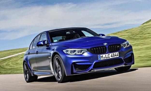 Новото BMW M3 с 500 к.с. и ръчна трансмисия