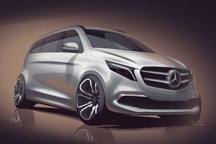 Mercedes ще покаже електрически миниван в Женева