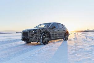 BMW тества серийния електрически кросоувър iNEXT