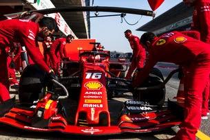 Предимството на Ferrari е половин секунда
