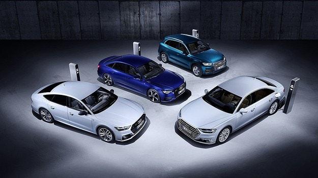 Audi представи хибридните A8, A7 Sportback, A6 и Q5