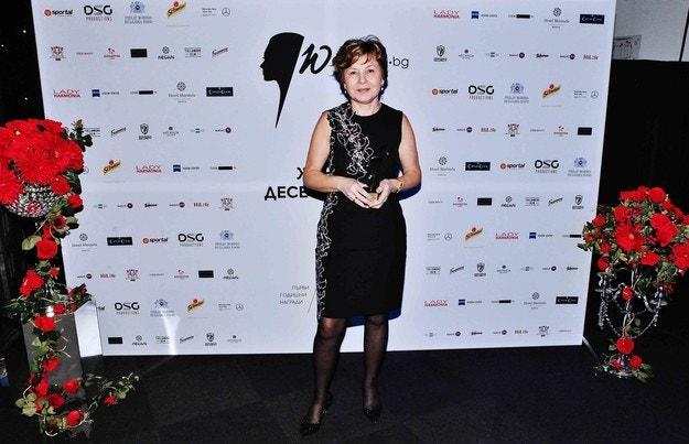 Камелия Славейкова е Жена на десетилетието