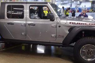 Стартира производството на пикапа Jeep Gladiator