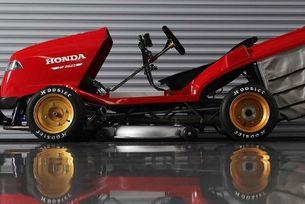Honda представи най-бързата косачка в света