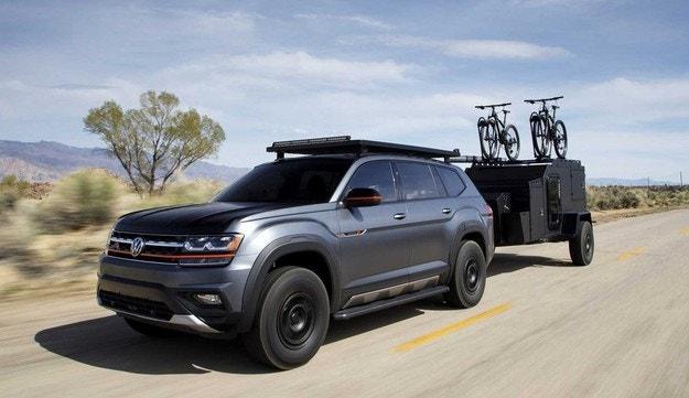 Volkswagen направи SUV за велосипедисти