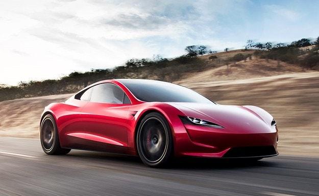 Tesla Roadster направи супер ускоряване