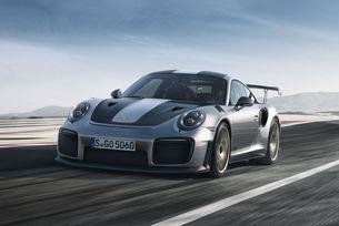 Най-бързият Porsche постави рекорд на US писта