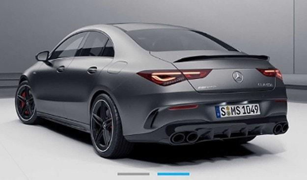 Първа снимка на най-мощния Mercedes-AMG CLA