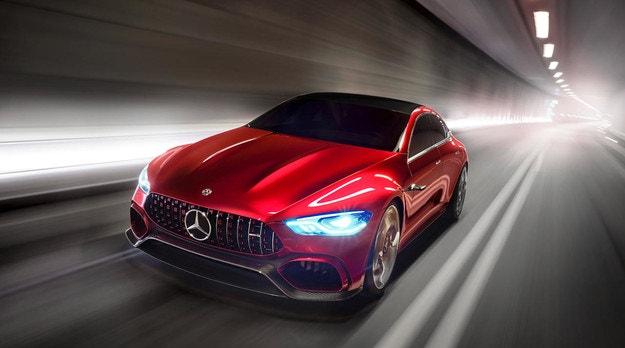 Mercedes-AMG GT с четири врати ще има 800 к.с.