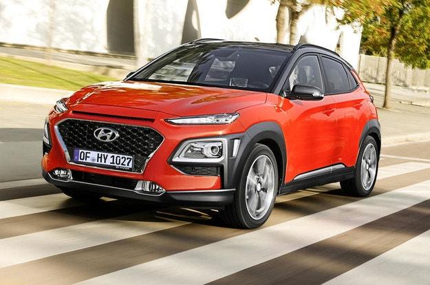 Кросоувърът Hyundai Kona се превърна в хибрид
