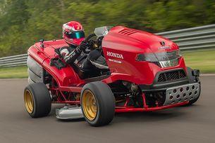 Косачката на Honda постави нов рекорд за скорост