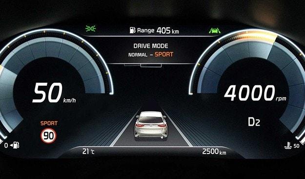 Кросоувърът Kia XCeed ще получи цифрово табло
