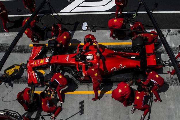 Ferrari прави промени за Гран при на Франция