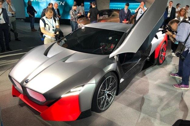 Електромобили BMW M не по-рано от 2025
