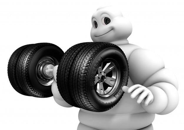Скъпият петрол удари и Michelin
