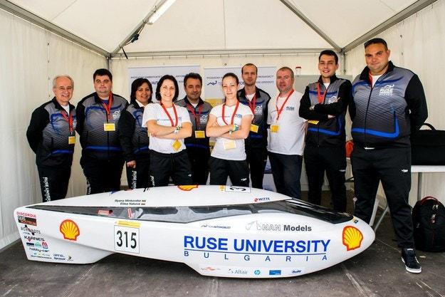 Студенти от Русе с нов проект на Shell Eco-marathon