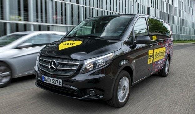 Mercedes пусна нов електрически миниван