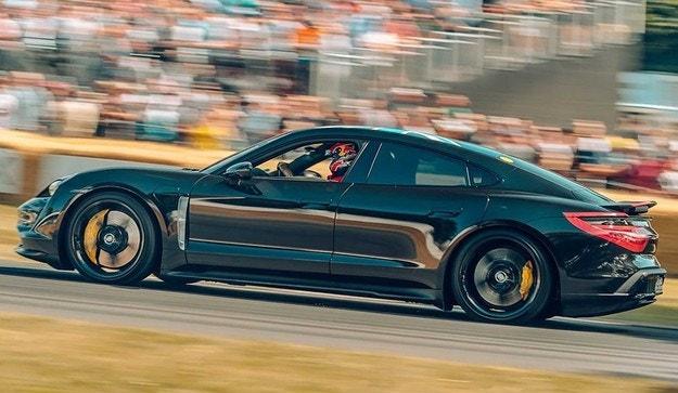 Известни са данните на електромобила Porsche