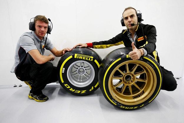 Формула 1 ще се откаже от настоящите гуми