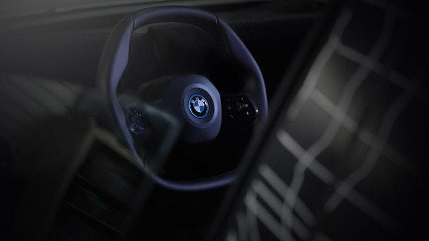 BMW оборудва iNEXT с необичайно кормило