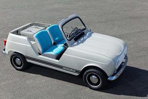 Renault направи електрически кабриолет e-Plein Air