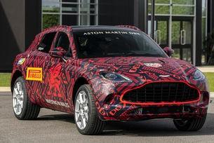 Ще покажат кросоувъра Aston Martin през декември