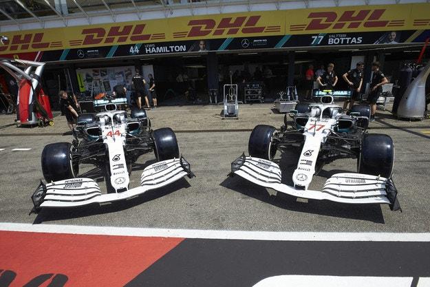 Mercedes вече няма проблеми с високите температури