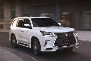 Lexus добави агресия на кросоувъра LX