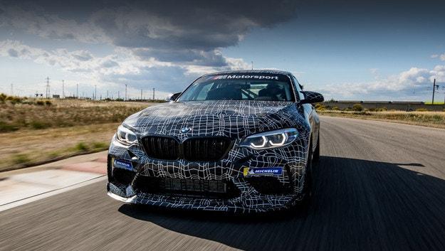 BMW M Motorsport показва нов автомобил