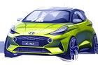 Hyundai представи първа скица на новия i10