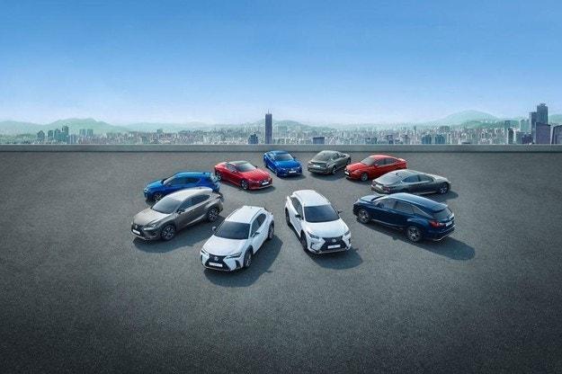 Lexus обяви продажбите си за първото полугодие