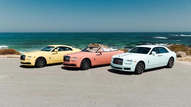 Rolls-Royce показва специални модели за Пебъл Бийч