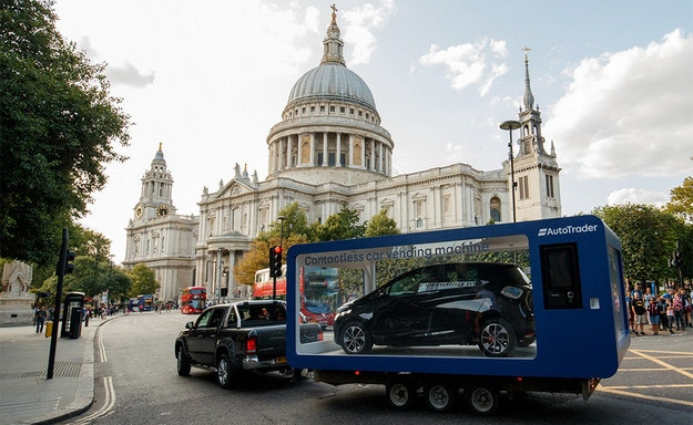 В Лондон инсталираха вендинг автомат