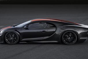Нестандартен Bugatti Chiron Sport разви почти 500 км/ч