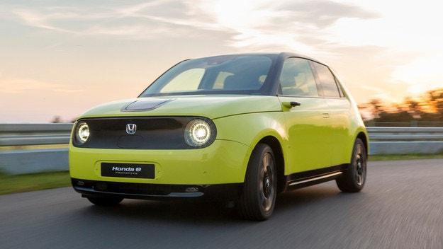 Honda показа първия си електрически автомобил