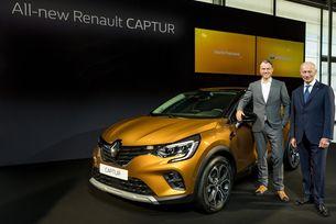 Новото Renault Captur дебютира във Франкфурт
