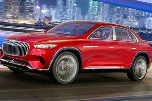 Mercedes-Maybach ще представи собствен кросоувър