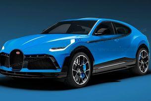 Bugatti ще пусне най-скъпия кросоувър в света