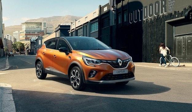 Renault Captur ще бъде хибрид с 45 км на ток