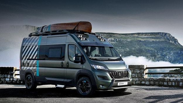 Peugeot Boxer 4x4 възхвалява двойното предаване