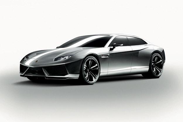 Lamborghini подготвя електромобил с 4 врати