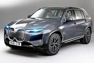 Кросоувърът BMW iNEXT с автономен пробег 580 км