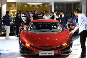Продажбите на електромобили в Китай паднаха с 34%