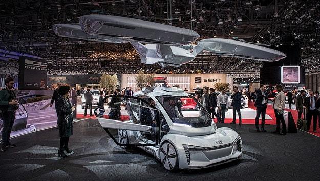 Audi преустанови проекта за летящо такси Pop.Up Next